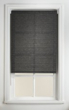 Black/Grey Textured Blinds